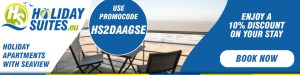 Book now and get a 10% discount. Use the promo code HS2DAAGSE.