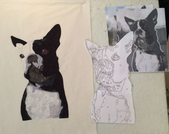 Process for constructing pet portrait