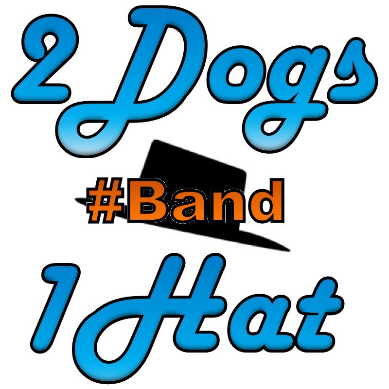 2Dogs1Hat #Band