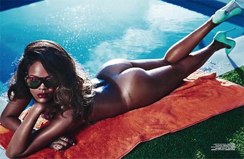 rihanna lui spread 02 Rihanna Goes Topless Says F*ck Clothing For Lui Magazine