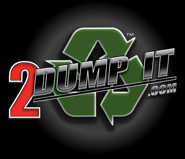 2 DUMP IT Dumpster Rental Logo