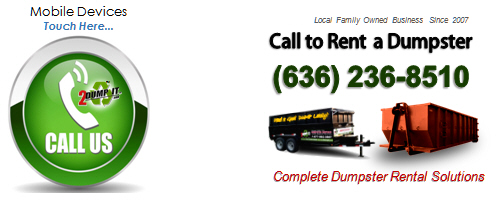 Rent a Dumpster - Mobile Call Button