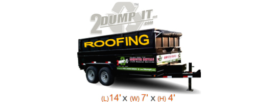 Roofing Dumpster, Shingle Disposal Dumpster