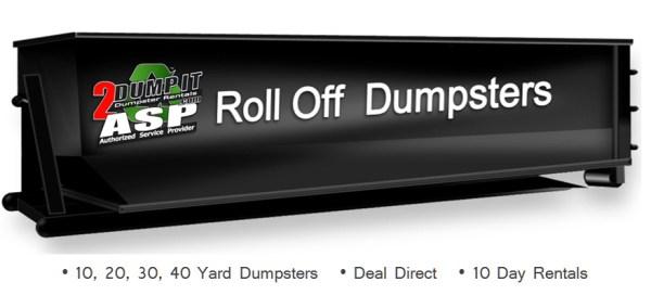 Roll Off Dumpster Rentals - Rent a Roll Off Dumpster