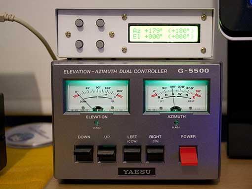 Fox Delta ST2 & Yaesu G5500 Controller