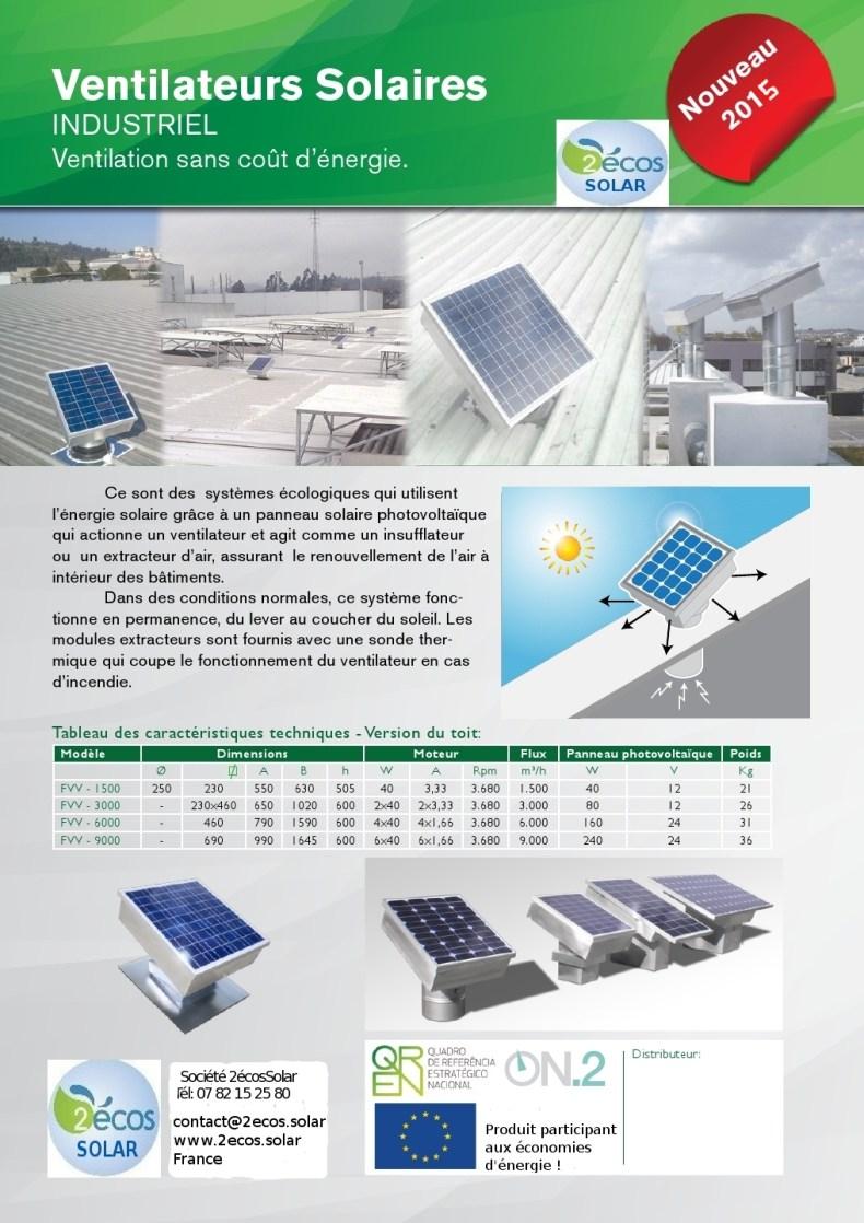 extracteur solaire