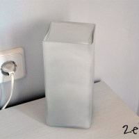 Ikea Hack: Tapa de plástico para mis lámparas Grönö