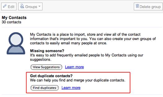 Google Merge Dupes in Bulk