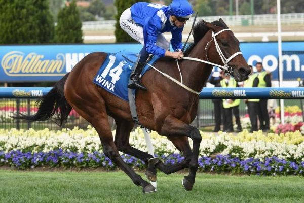 Winx makes history with fourth Cox Plate triumph