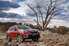 Fifth-generation Subaru Forester SUV – right up there with the best