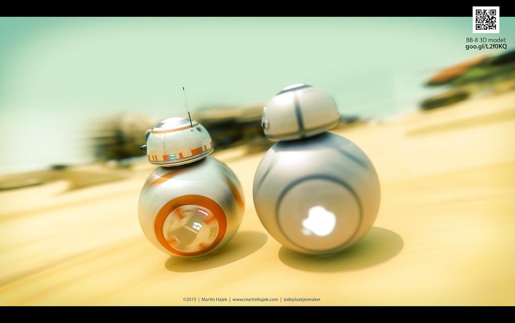 Star Wars : Si BB8 avait été conçu par Apple