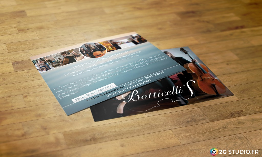 Flyer Botticelli'S