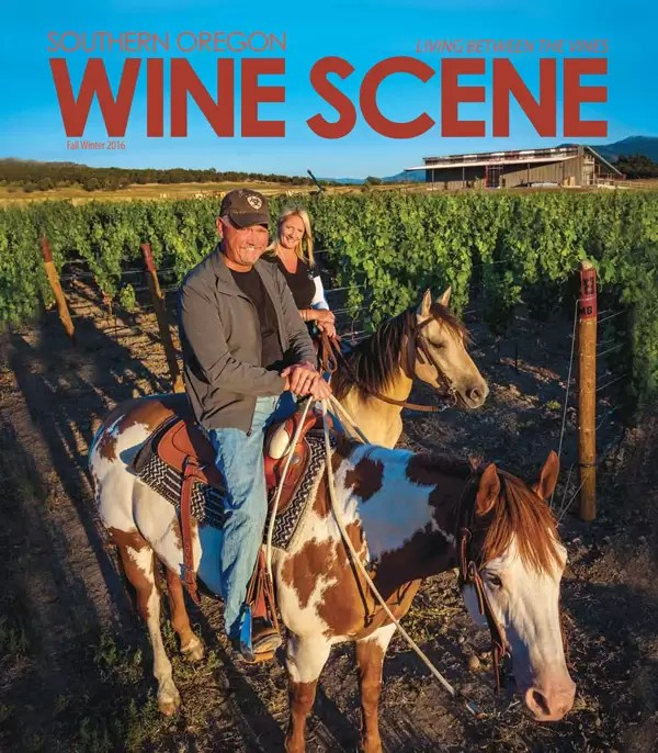 2Hawk Vineyard and Winery Featured in the Fall-Winter 2016 Southern Oregon Wine Scene
