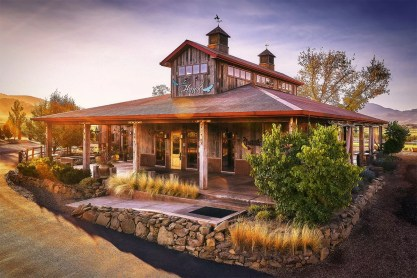 2Hawk Vineyard and Winery Tasting Room and Landscaping