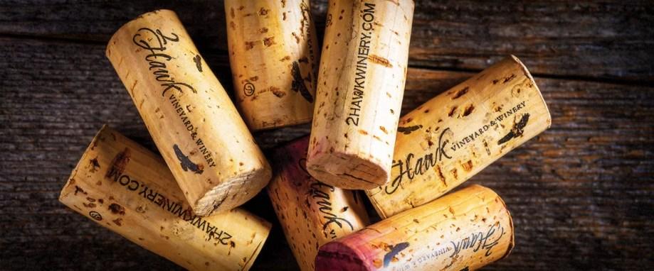 2Hawk Vineyard and Winery Wine Corks