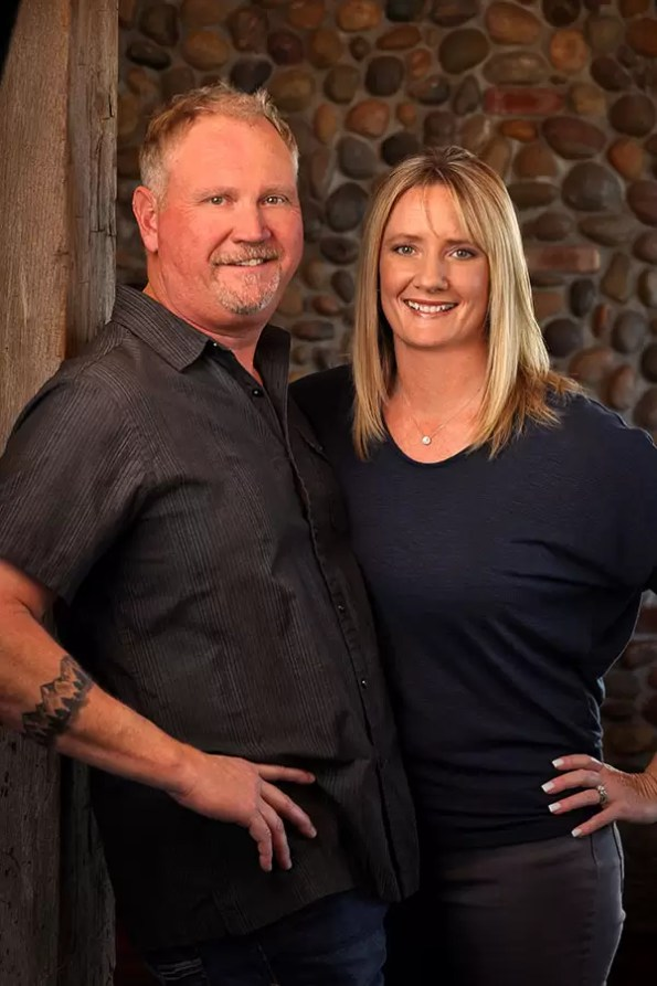 2Hawk Vineyard and Winery Owners Jen and Ross Allen