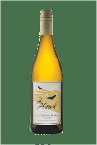 2Hawk Vineyard and Winery 2018 Sauvignon Blanc Wine Bottle