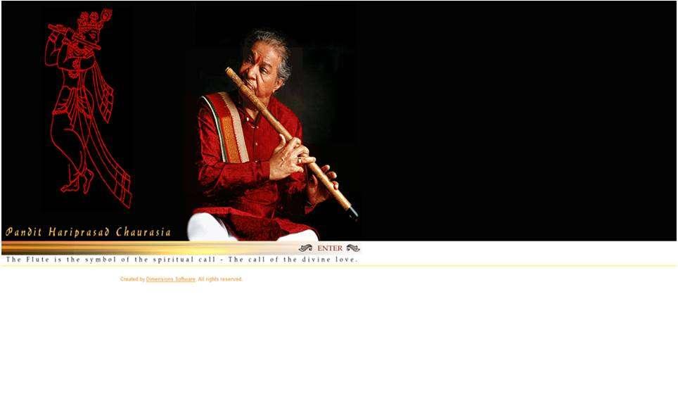 Home Page of Hariprasadchaurasia.com