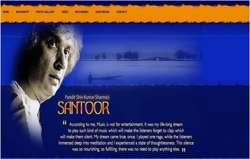 Home Page of Santoor.com