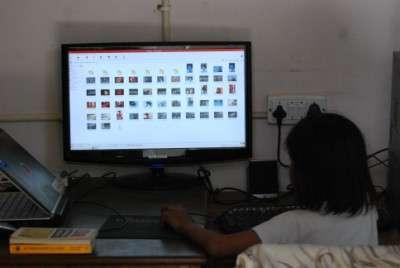 Browsing through files and folders in Edubuntu