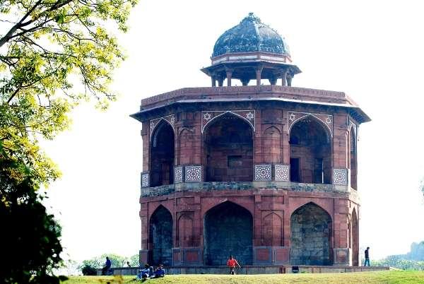 Sher Mandal in Old Fort, Delhi