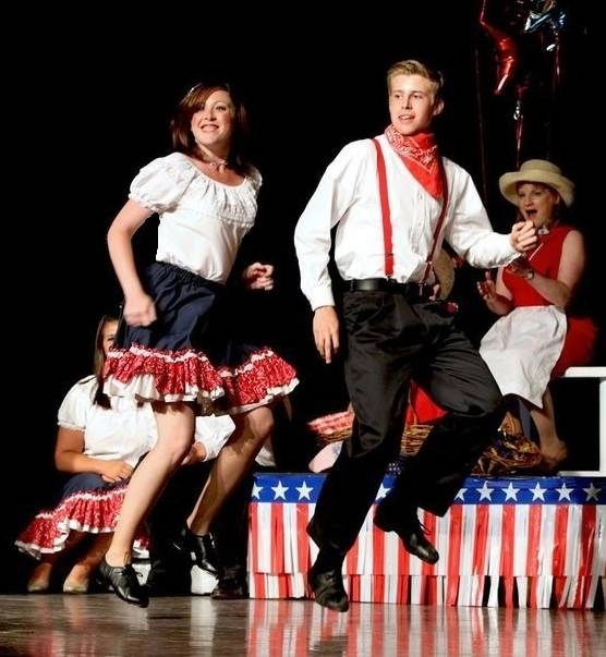 Graham and Dorothy dancing Rodeo