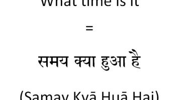 How to say see you soon in hindi how to say what time is it in hindi ccuart Choice Image
