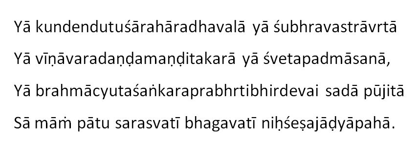 Saraswati-Stotra-in-English