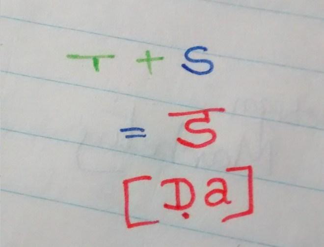 Devnagiri Consonant
