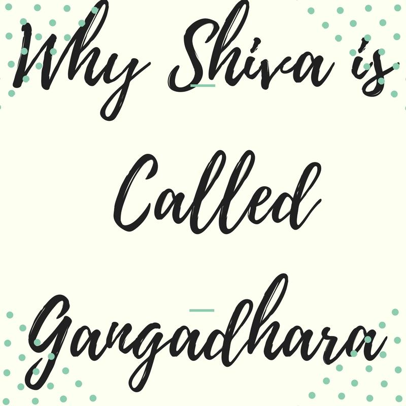 Why Shiva is Called Gangadhara