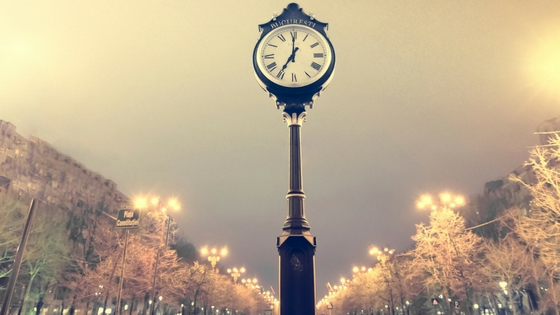 Poem on importance of time in english