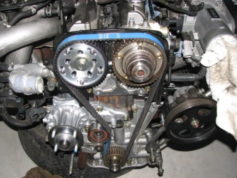2JZGTE VVTi titan came gear and power enterprise timing belt