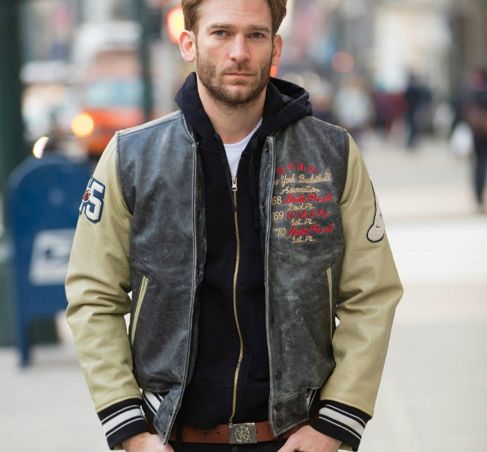 The Varsity Leather Jacket