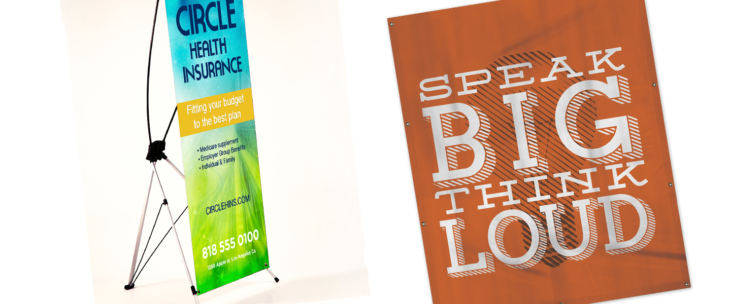 Large Format Banners Signs Printing
