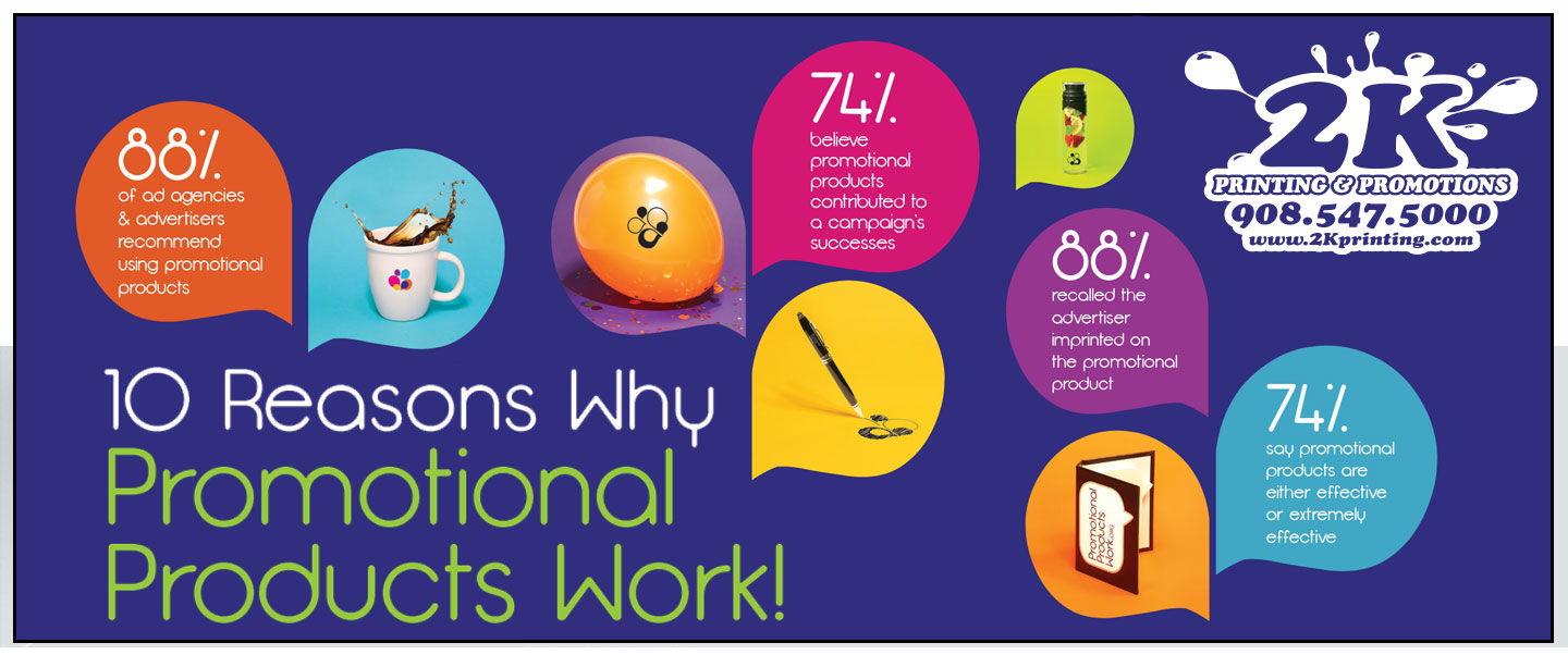 The Top 10 Reasons Why Promotional Items Work!