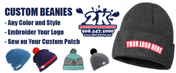Custom Embroidered Or Decorated Beanies Are Stylish And Affordable!