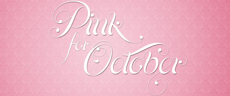 Pink For October Breast Cancer Awareness 2K