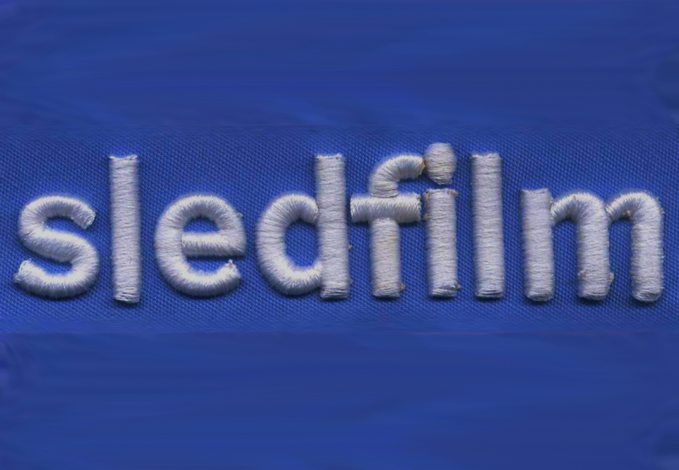 3D Puff Embroidery For Sledfilm