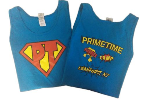 Custom Tank Tops For Prime Time Summer Camp
