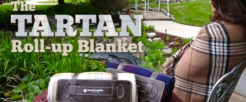 Tartan Roll Up Blanket