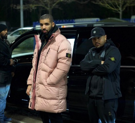 Drake millennial pink