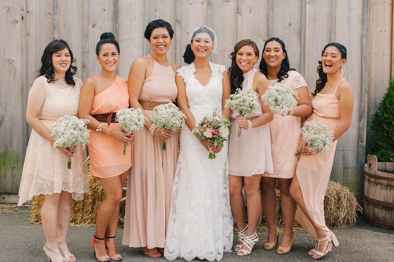 Interchangeable Bridesmaid Dresses
