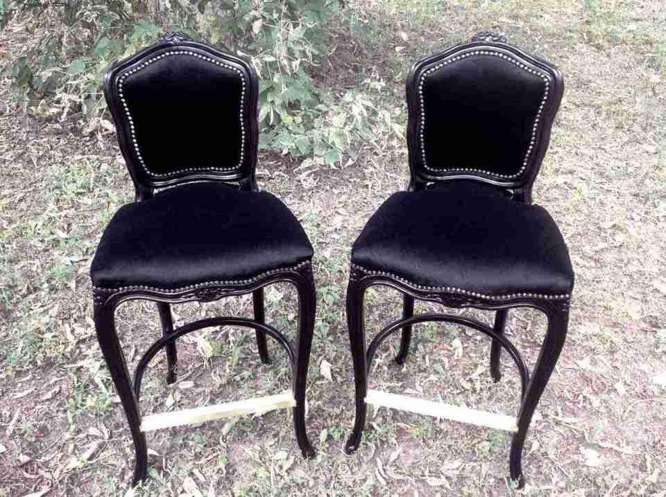 Барные стулья в стиле рококо, 1990-е годы