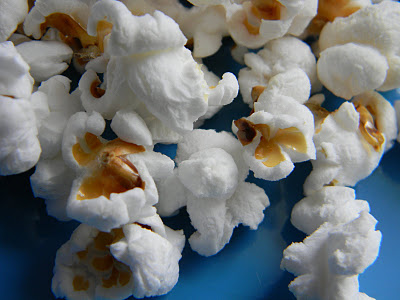 My homegrown popcorn on Australian television