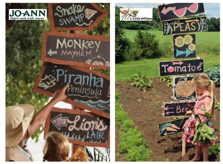 Summer of Jo-Ann Chalkboard Signs