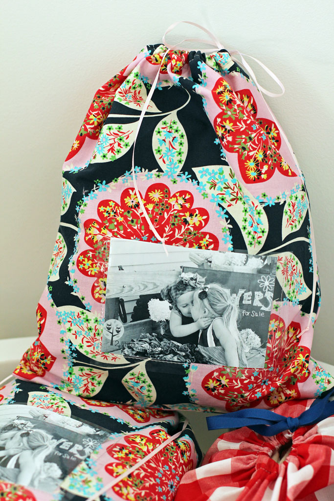 fat quarter friday {keepsake bags}