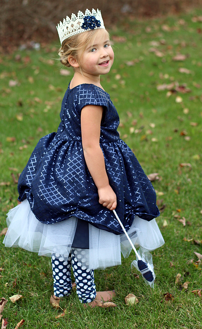 Handmade Halloween Costume: Blue Princess