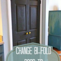 Change Bi-fold Doors to French Doors