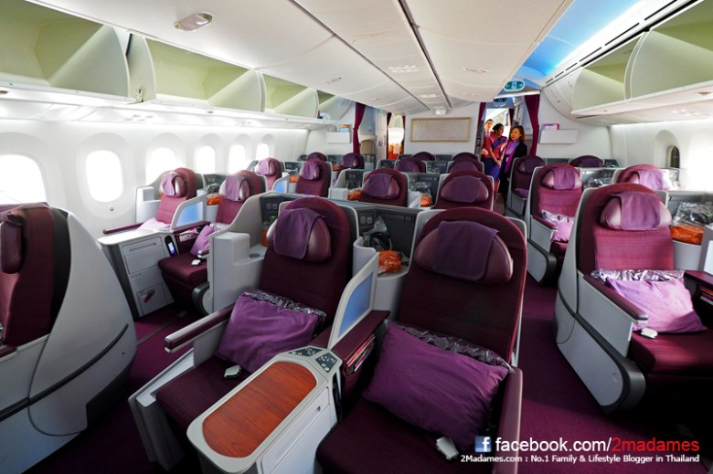 Image result for thai 787 business class