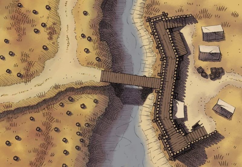 Checkpoint RPG battle map